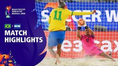 Brazil V El Salvador Fifa Beach Soccer World Cup 2021 Match Highlights Isdhvq2Ezlc Image