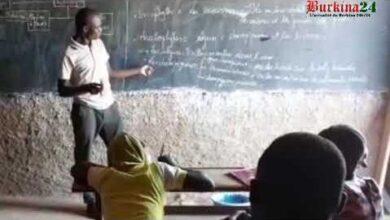 Burkina Faso Des Cours Dappui Au Profit Des Eleves Deplaces Internes Khp8Dm4Lnv0 Image