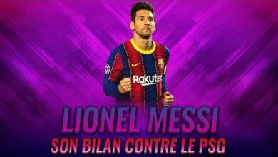 Buts Et Passe Decisive Le Bilan De Lionel Messi Contre Le Psg Tsrnjjl86Ic Image