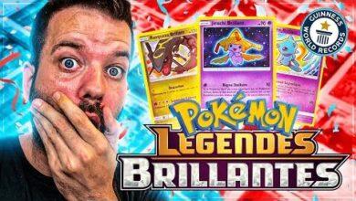 Ce Coffret Est Un Record Du Monde 5 Brillantes En 8 Boosters Legendes Brillantes Pokemon Ynexxudmqsq Image