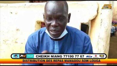 Distribution Des Repas Pour Les Malades Mentaux Louga Baye Mamadou Sow Ejmykfevqre Image