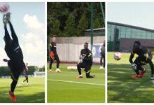 Edouard Mendy Sentraine Comme Un Fou Pour Preparer La Reprise Du Championnat Avec Chelsea Jzysclbocji Image
