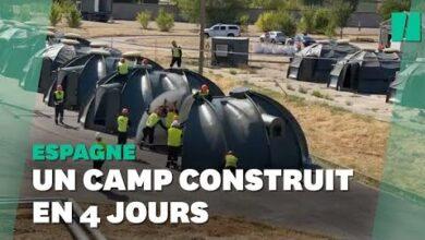 En Espagne Un Camp Pour Accueillir Des Refugies Afghans Construit En 4 Jours 92Pyc72Iz1O Image