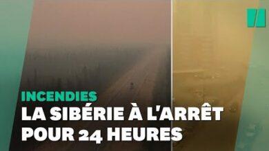 Face Aux Incendies En Siberie Un Jour Chome Decrete En Urgence Gcdjhbo4Dj8 Image