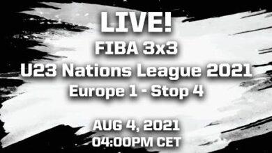 Fiba 3X3 U23 Nations League 2021 Europe 1 Stop 4 Hjrjg9Hob7A Image