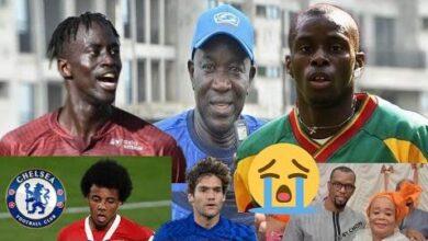 Henri Camara En Deuil Lamine Ndiaye Coach De La Saison Ibrahima Niane Jules Kounde Marcos Alonso Bbdcxdmlbro Image