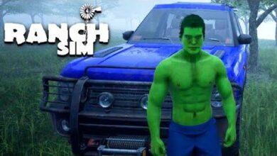 Hulk Im Bonzen Auto Vs Umwelt Ranch Simulator Deutsch Zrugowgvcie Image