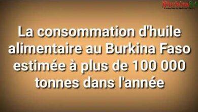 Le Burkina Faso Consomme Plus De 100 000 Tonnes Dhuile Dans Lannee Xpi4Ra31Ug Image