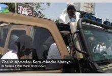 Le Guide Cheikh Ahmadou Kara Mbacke A Thies Au Rond Point Nguinth V16Jv8Pm Zi Image
