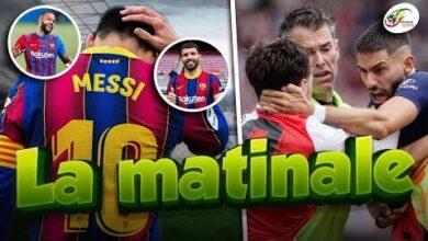 Le Numero 10 De Messi Cede A Une Recrueyannick Carrasco Craque Completement En Amical Matinale X4Cehroydx4 Image