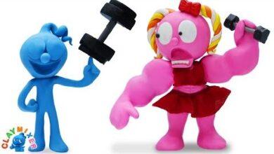 Le Vrai Visage De Blue Et Le Defi De Pink Animated Cartoons Characters Lbtkvzb4Fow Image