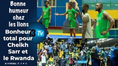Les Lions Sentrainent Dans La Bonne Humeur Quand Cheikh Sarr Fait Chavirer Le Rwanda De Bonheur Hec8Ydksusa Image