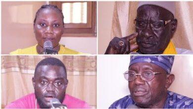 Les Responsables De Larene Adrien Senghor Chez Mbayang Loum Pour Apporter Leur Soutien Vwdabgmigiy Image