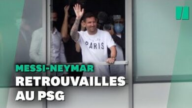 Lionel Messi Au Psg Neymar Heureux De Retrouver Son Ancien Coequipier Juzp6Hvyup4 Image