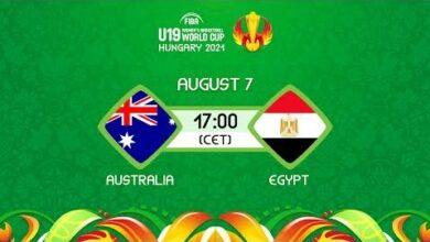 Live Australia V Egypt Fiba U19 Womens Basketball World Cup 2021 Uejbbznpida Image