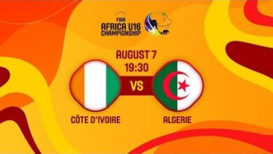 Live Cote Divoire V Algeria Fiba U16 African Championship 2021 Uca3Kawowoq Image