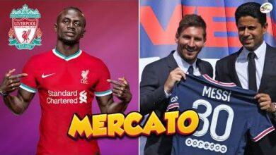 Liverpool Tres Chaud Sur Le Nouveau Sadio Maneal Khelaifi Annonce Le Jackpot Avec Messi Mercato Ta4Lbwl6Ais Image