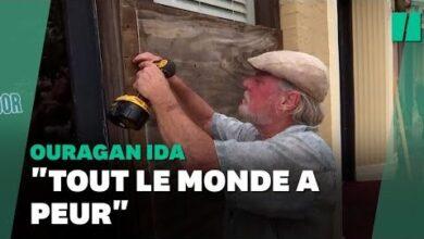 Louragan Ida Approche De La Louisiane Voici Comment Les Habitants Se Preparent Ke96Poubiq4 Image