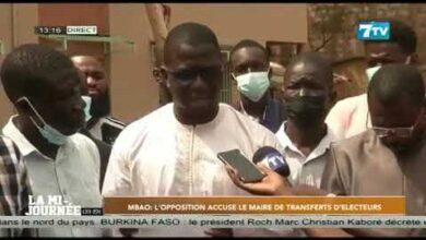 Mbao Lopposition Accuse Le Maire De Transferts Delecteurs Xaxnr4Naaty Image