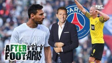 Mercato Psg Riolo Aurait Prefere Haaland A Messi Axx7Fy6Z3C Image