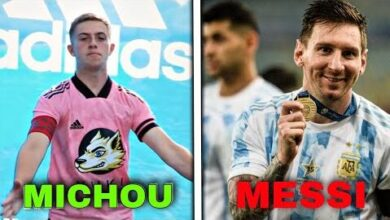 Messi Vs Michou Zh2I7Virwcq Image