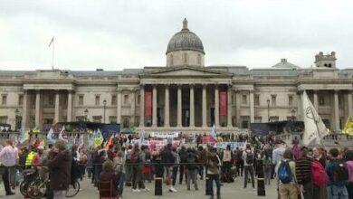 Milhares Nas Ruas Em Protesto Pelo Clima Em Londres S3Dscajgoja Image