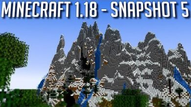 Minecraft Snapshot 118 Test 5 Enfin Des Vrais Montagnes Laf32Qu169K Image