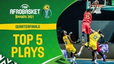 Nike Top 5 Plays Day Qual To 1 4 Fiba Afrobasket 2021 E1Zdwidbcja Image