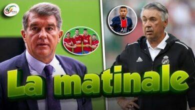 Nouveau Probleme Au Fc Barcelone Carlo Ancelotti Repond A La Rumeur Mbappe Matinale I1 Tgcsklna Image