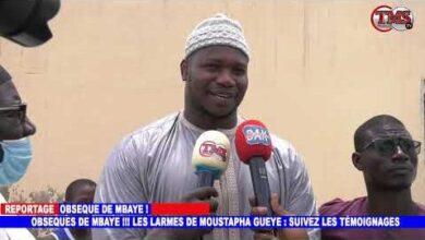 Obseque De Mbaye Gueye Les Larmes De Moustapha Gueye Suivez Les Temoignages O6Pfu7Qlyzy Image