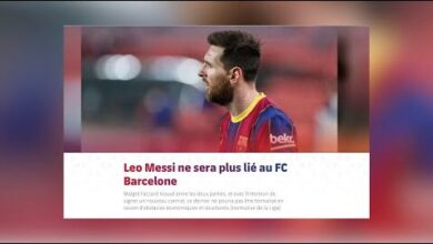 Officiel Lionel Messi Quitte Le Fc Barcelone Apres 16Ans Passe Fbvi4J9 2Sa Image