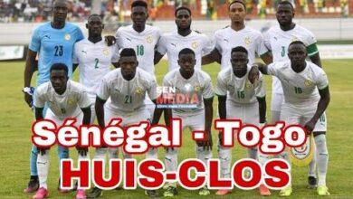 Officiel Senegal Va Jouer A Huis Clos Contre Togo Au Stade Lat Dior De Thies Joseeaxubaw Image