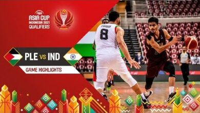 Palestine India Highlights Fiba Asia Cup 2021 Qualifiers Tsw4Tyqtpzk Image