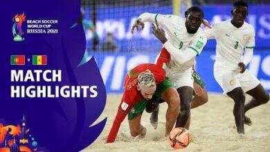Portugal V Senegal Fifa Beach Soccer World Cup 2021 Match Highlights Kdqgydnrvhe Image