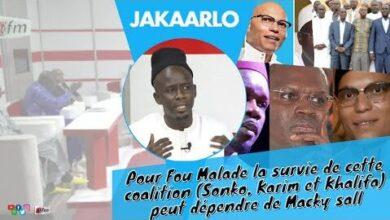 Pour Fou Malade La Survie De Cette Coalition Sonko Karim Et Khalifa Peut Dependre De Macky Sall O Ett2Ixxu0 Image