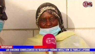 Presence Remarque De Thierno Moule Sow Aux Obseques Du Khalif Des Layenes O3Mc1Nftgri Image