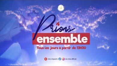 Prions Ensemble Du 31 Aout 2021 I Pasteur Pierre Damien Yelemou Bqhfhlcsmqm Image