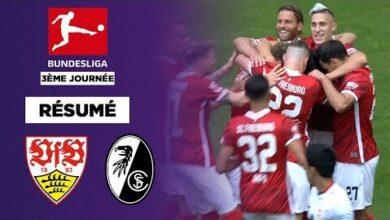 Resume Fribourg Remporte Un Match Fou A Stuttgart X92R V21N9Y Image