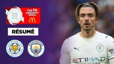 Resume Leicester Soffre Manchester City Et Le Community Shield Gd Qsobigqu Image