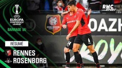 Resume Rennes 2 0 Rosenborg Barrage Aller De Conference League Lyoevpe64Oc Image