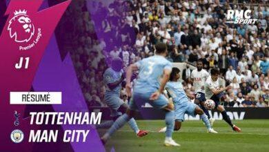 Resume Tottenham 1 0 Manchester City Premier League J1 Kbfxz3Npuvu Image