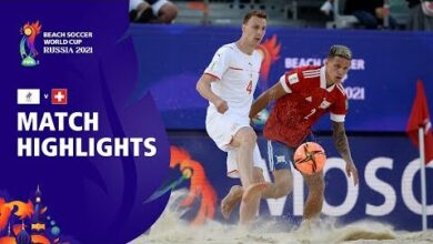 Rfu V Switzerland Fifa Beach Soccer World Cup 2021 Match Highlights Gn9Gbtx Uvw Image