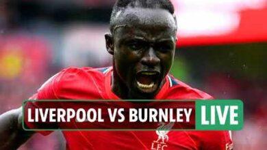 Sadio Mane Buteur Liverpool Enchaine Devant Burnley 2 0 Igv4Wtphyeu Image