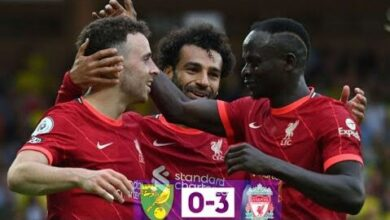 Sadio Mane Et Liverpool En Demonstration Chez Norwich Les Reds Annoncent La Couleur K1Tw7G7Hwau Image