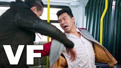 Shang Chi Et La Legende Des Dix Anneaux Combat Dans Le Bus 2021 Alyq3 Wzy3G Image