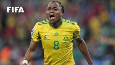Siphiwe Tshabalala On That South Africa 2010 Goal Fifa World Cup 78Nfrdffz54 Image
