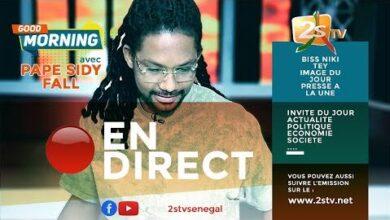 Suivez Good Mornng Avec Pape Sidy Fall Vendredi 06 Aout 2021 Npzu4Xpgt3K Image