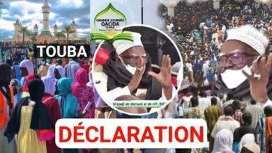 Touba Discours Du Khalife General Des Mourides Serigne Mountakha Bassirou Mbacke Sogne Otrhkn2Ff04 Image