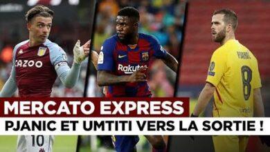 Transferts Umtiti Pjanic Kane Grealish Les Infos Mercato Du 2 Aout 4Fupuvpluvu Image