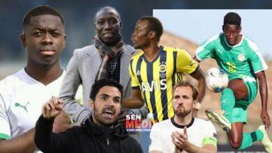 Un International U20 En Turquie Baba Thiam Change De Club Nampalys Mendy Fary Faye Kane Kounde Dsg G4Xpw8 Image